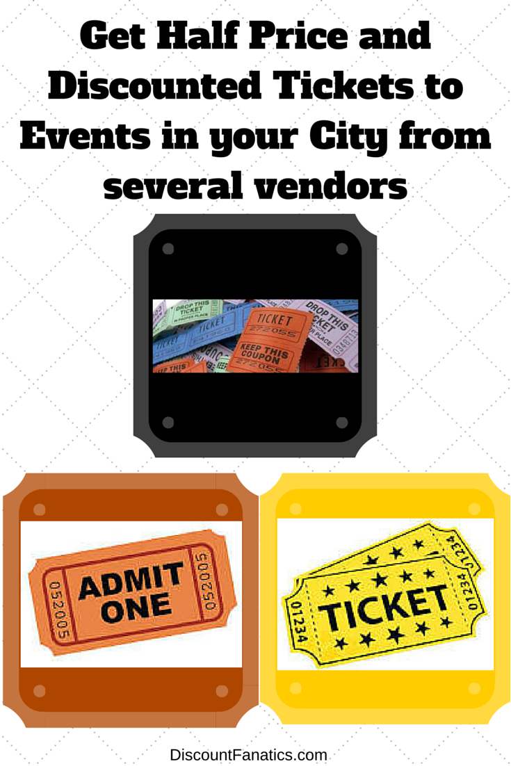 Half Price Tickets for things to do in Denver